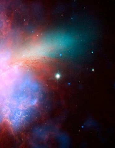 Spiral Galaxy Star Constellation Notebook: 8.5 X 11 202 College Ruled Pages (Galaxy College Ruled Notebook)
