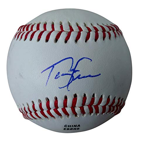 (Cleveland Indians Terry Francona Autographed Hand Signed Baseball with Proof Photo of Signing, Boston Red Sox, Philadelphia Phillies, Oakland Athletics A's, COA)