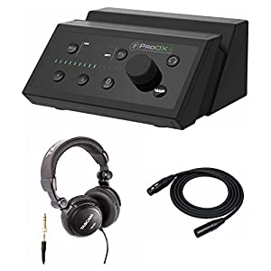 Mackie ProDX4 4-Channel Wireless Digital Mixer with Headphones & XLR Cable