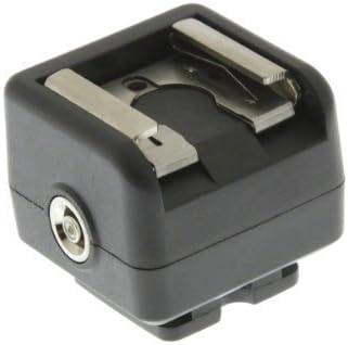 Adattatore a slitta per sincronizzazione flash per fotocamere senza presa sincro Connette flash e flash da studio alla tua fotocamera DSLR con cavo standard