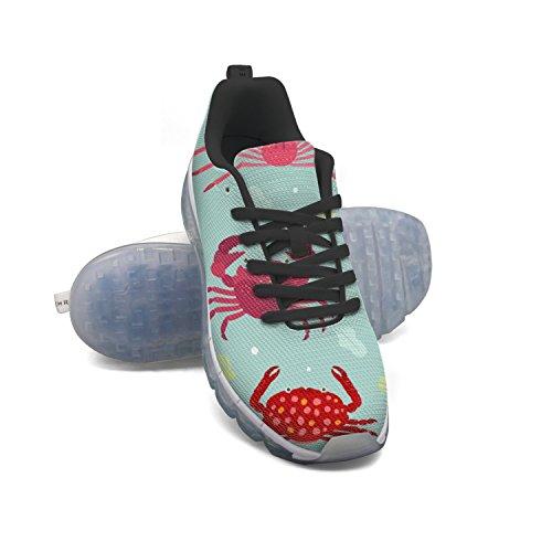 Euuair Kvinders Krabbe Fitness Luft Pude Sko Afslappet Løb Gående Sneakers 1FKqu