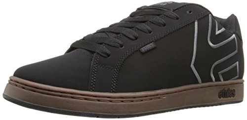 Etnies Men's Fader-M, Black/Charcoal/Gum, 9 D US
