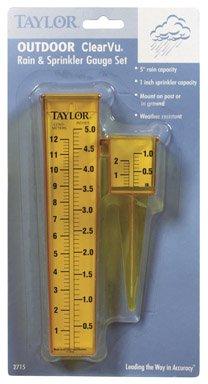 Taylor Precision 2715 2-in-1 Rain Gauge-RAIN GAUGE