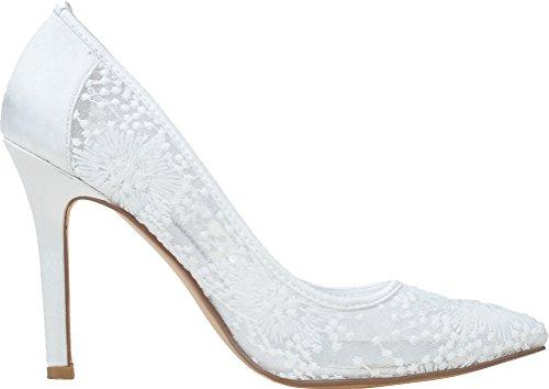 Salabobo , Sandales Compensées femme - Blanc - blanc,