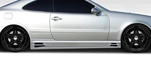 1998-2002 Mercedes Benz CLK W208 Duraflex BR-S Side Skirts - 2 Piece - Aero Kit Side Skirts