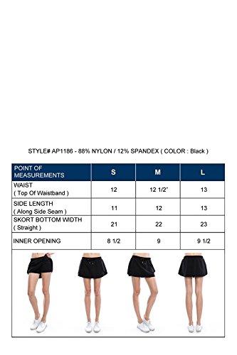Mono B Women's Lightweight Active Skort