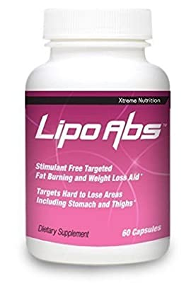 Lipo Abs Powerful Targeted Diet Aid Burns Abdominal Fat Quickly 2 bott.