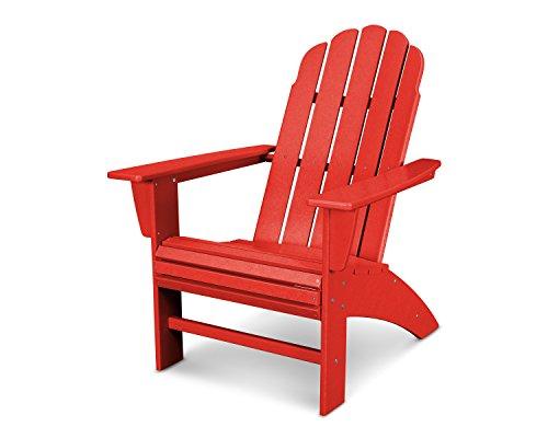 POLYWOOD Vineyard Curveback Adirondack Chair (Sunset ()