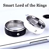 NFC smart ring titanium steel phone NFC chip Lord of the...