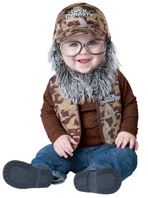 Duck Dynasty Baby Boy's Uncle Si Costume, Camouflage, Small