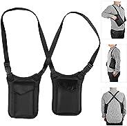 Neween Anti-Theft Hidden Underarm Shoulder Bag, Concealed Shoulder Holster Storage with Pack Pocket, Multipurp