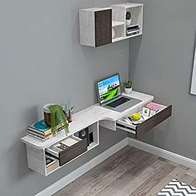 Estante flotante para montar en la pared, escritorio de ordenador ...