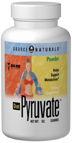 Source Naturals Diet Pyruvate 750mg, 60 Capsules