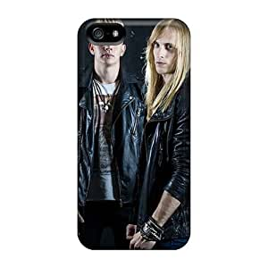 Shock Absorbent Hard Phone Cover For Iphone 5/5s With Custom Colorful Bathory Band Pictures EricHowe