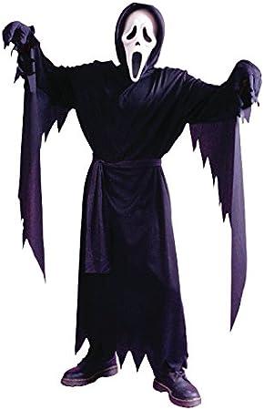 Disfraz de Halloween los niños tamaño Scream: Amazon.es: Juguetes ...