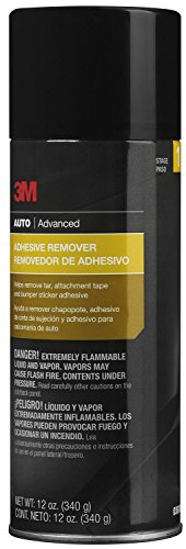 3M Adhesive Remover, Helps Remove Tar, Attachment Tape & Bumper Sticker Adhesive, 12 oz., 1 aerosol (Adhesive Remover Automotive)