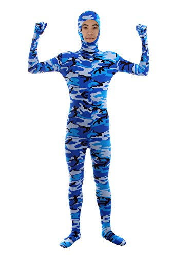 - 414CaO7A7tL - Sheface Spandex Face Out Zentai Bodysuit Costumes for Adults and Kids