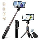 Humixx Wireless Selfie Stick Tripod Portable Monopod Removable Wireless Remote Portable Self-portrait Stick