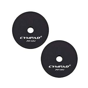 Cympad - Juego de limpiadores de platillos (70/15 mm, 2 unidades)