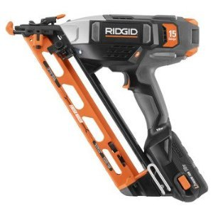 Factory-Reconditioned Ridgid ZRR250AF18 18V Lithium-Ion 2-1/2-in Angled Finish Nailer