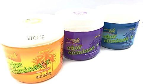 California Scents Citrus Splash, Vanilla & Fresh Linen - Ambientador con aroma a olor, 5,2 oz, pack de 3: Amazon.es: Hogar