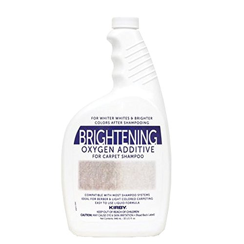 Genuine Kirby 32oz. Brightening Oxygen Additive for carpet shampoo (1 bottle)
