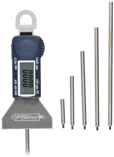 - Fowler Full Warranty Xtra-Value Depth Gauge, 54-225-555-0, 0-16