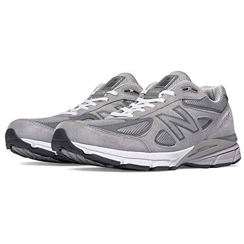New Balance Men's M990GL4 Running Shoe, Grey/Castle Rock, 10.5 4E US