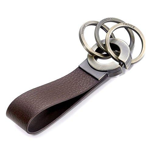 troika-click-brown-leather-keyholder-kr802br