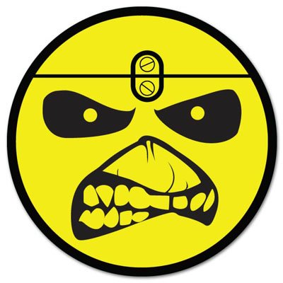 Iron Maiden Vynil Car Sticker Decal - Select Size (Iron Maiden Window Decal compare prices)