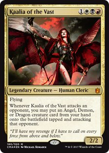 Kaalia of the Vast – Foil - Commander Anthology