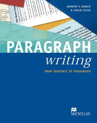 Writing Paragraphs pdf