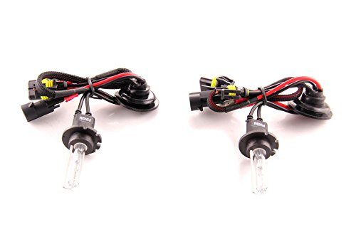 DDM Tuning Xenon HID Replacement AC Bulbs D2H 6000K Pair, 1 Year Warranty ()