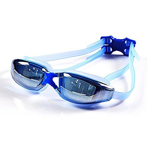Unisex De Gafas Pingguang Azul Marco HD QY Durable Antivaho Y Impermeable Natación Grande qAP16w5