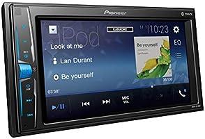 Pioneer 1025926 Pantalla Doble DIN Multimedia y Bluetooth, Negro ...
