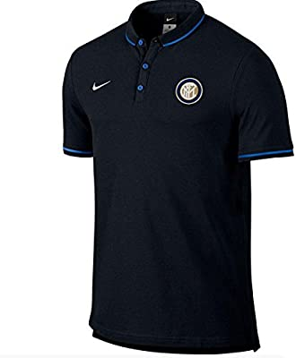 2015-2016 Inter Milan Nike Matchup Core Polo Shirt (Black): Amazon ...