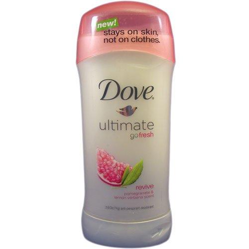 Deodorant Moisturizing Moisturizer (Dove Go Fresh Revive Anti-Perspirant Deodorant Stick for Unisex, 2.6 Ounce)