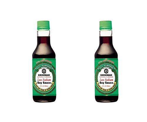 Kikkoman Light Soy Sauce, 10 Ounce (Pack of 2) (Soy Sauce Kikkoman Soy)