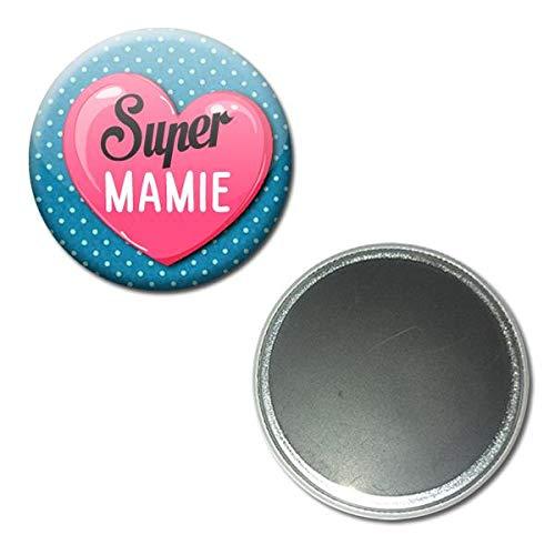 Idee Cadeau Fete Grand Mere.Super Mamie Magnet Aimant 5 6 Centimetres Idee Cadeau