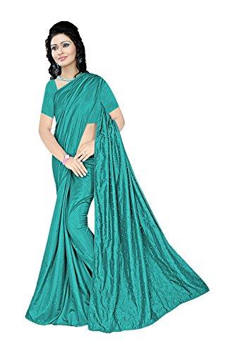 Indian Wedding Party 3 Saree Ethnic Traditional Designer Sarees for Wear Women Green Facioun Da 50xXqAUn