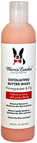 Warren London - Exfoliating Butter Wash for Dogs - Pomegranate & Fig - 8 Oz