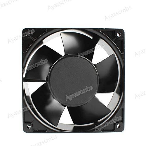 Ayazscmbs Compatible para New para BI-Sonic 4E-230B 02 22//21W 12038 220V 230V enfriamiento Ventilador