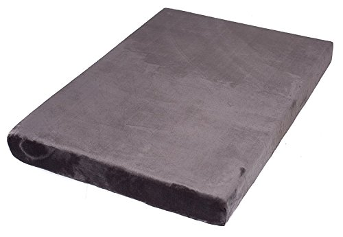 BIRDROCK HOME Memory 3 Memory Dog Bed – Ultra Soft Plush Pet Bed – Pet Mat