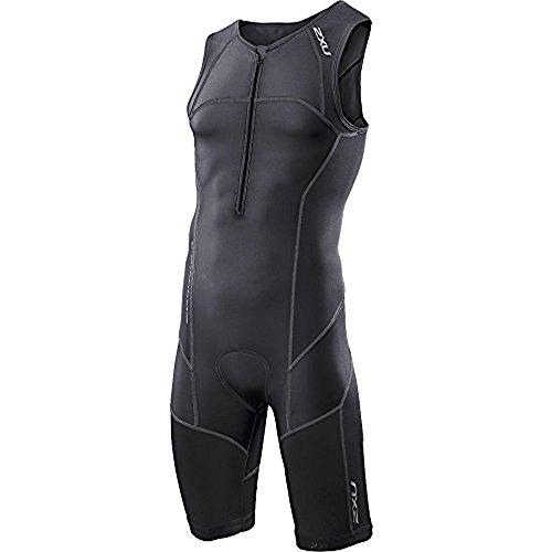 2XU Men's LD Core Support Tri Suit, Black, - Suits Triatholon