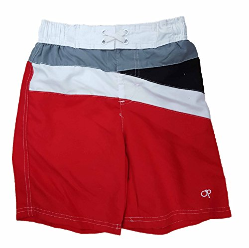 ocean-pacific-boys-red-w-stripes-swim-shorts-2xl