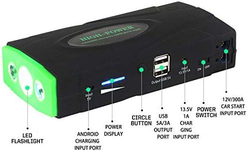 Tuneway 16800MAh High Power Car Jump Starter 12V Dispositivo de Arranque Port/áTil Power Bank Cargador de Coche para Bater/íA de Coche Booster Buster 2 USB