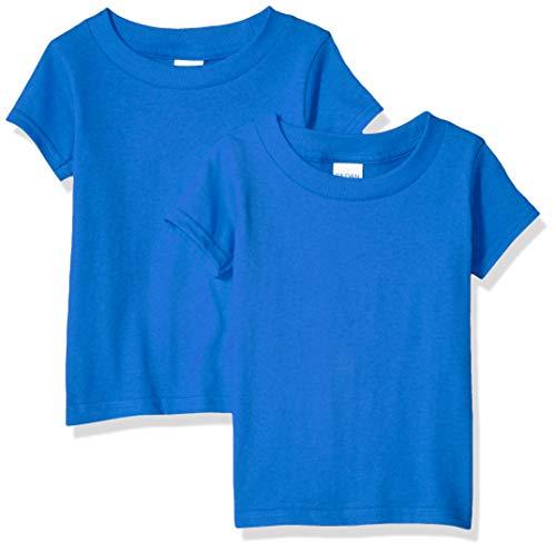 Royal Blue Toddler T-shirt - Gildan Kids Toddler T-Shirt, 2-Pack, Royal, 4T