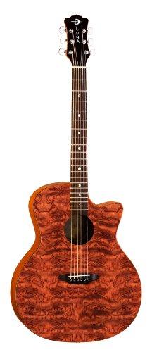 Luna GYPSYBUBINGA Gypsy Acoustic Guitar, ()