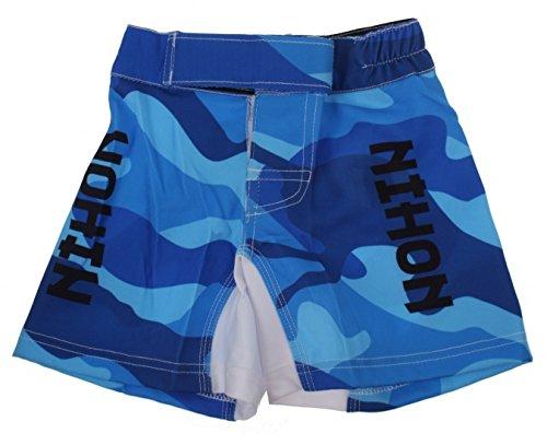 pantalon kickboxing bébé Camouflage bleu garçon Nihon