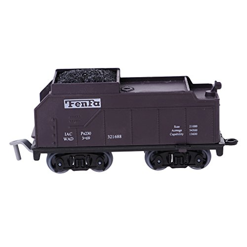 ilroad Train Carriage Layout Gauge Load Coal Detailed Car Model ()